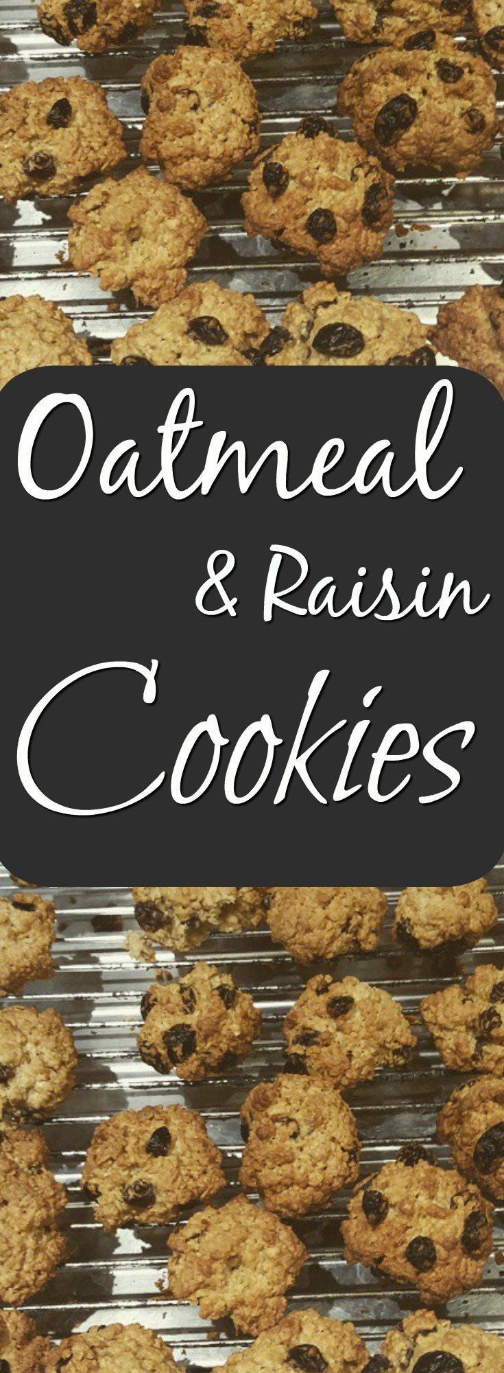 Yummy Oatmeal and raisin cookies just like mama used to make