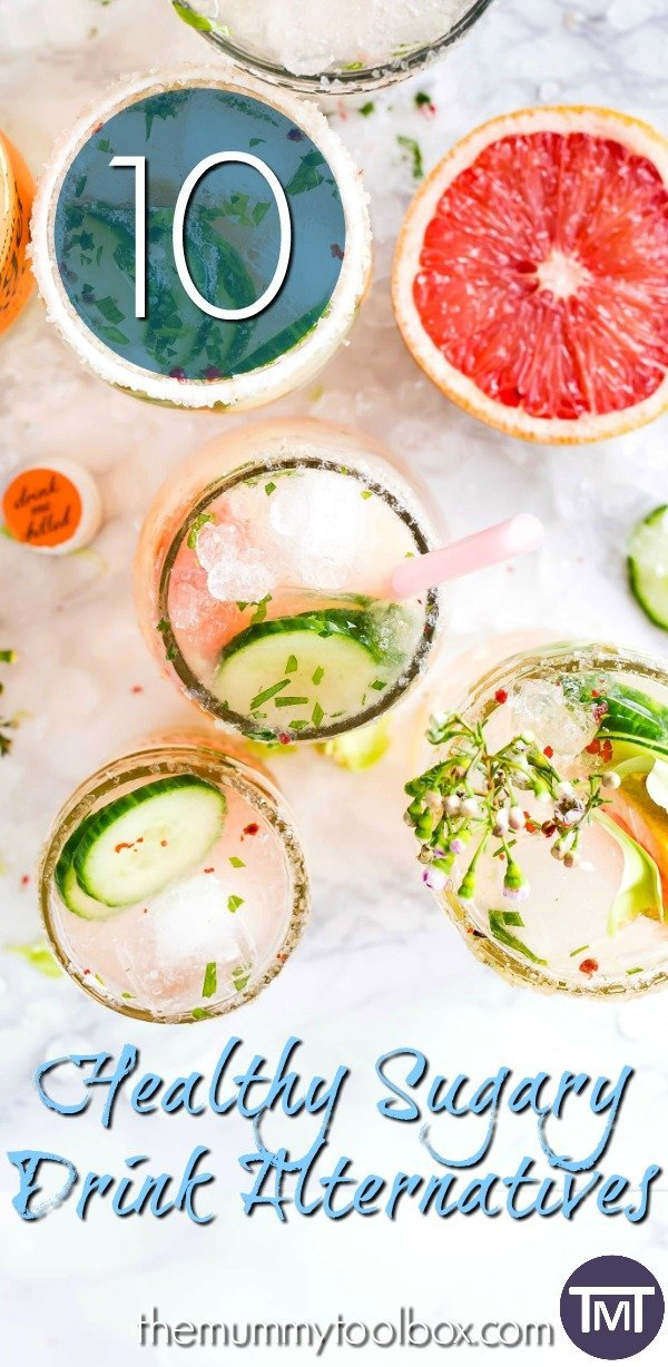 Healthy sugary drink alternatives that are great substitutes and will make you wonder why you never broke up with sugar before!