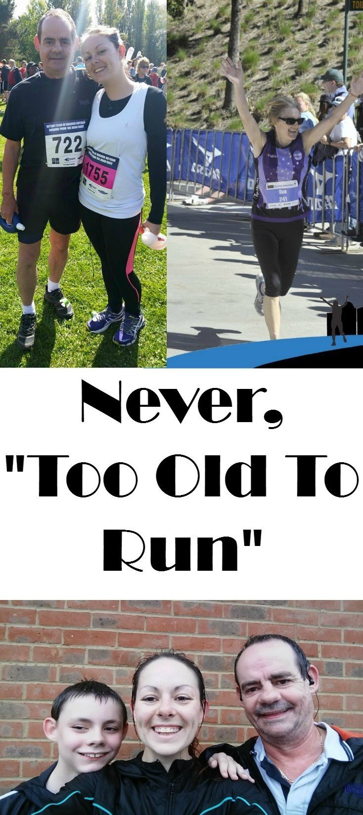 You are never too old to run, and here's why