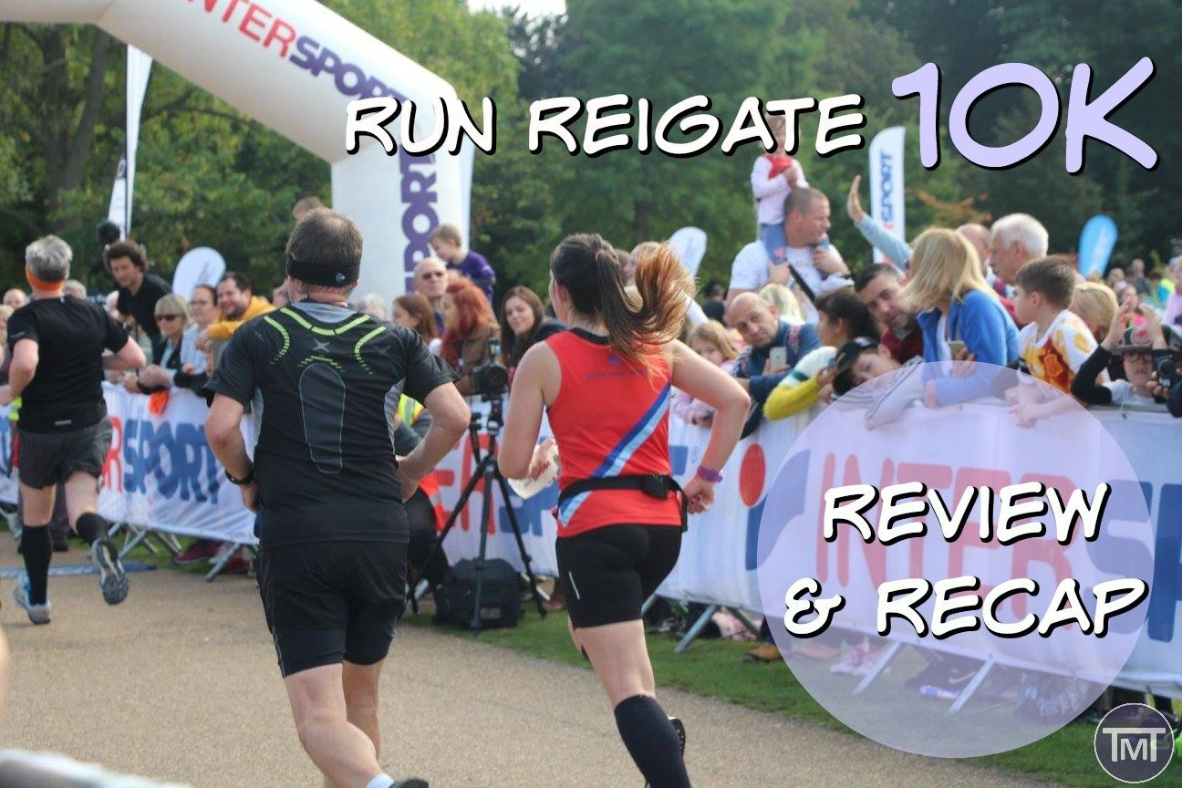 The Run Reigate 10K 2016 recap, review and some insider photos on how the day went, along with sporting icons, the good, the bad and the delicious.