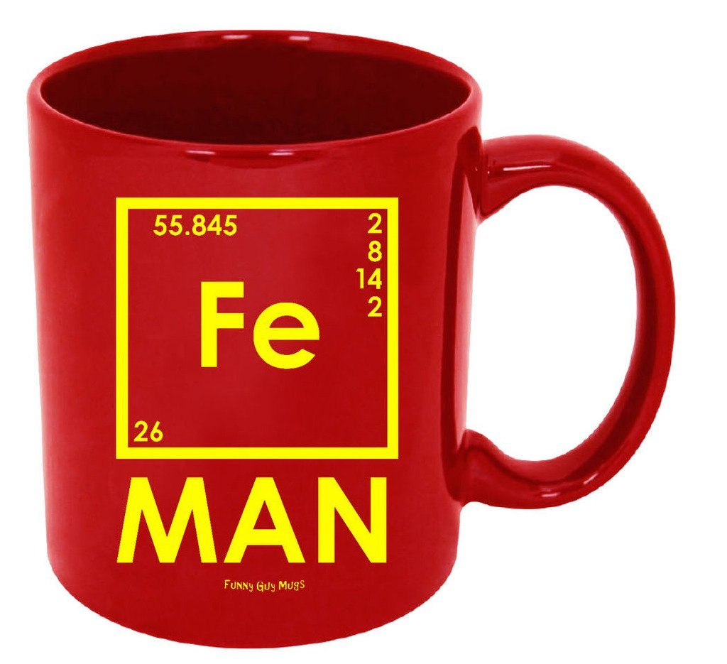 iron man mug - geeky gift guide
