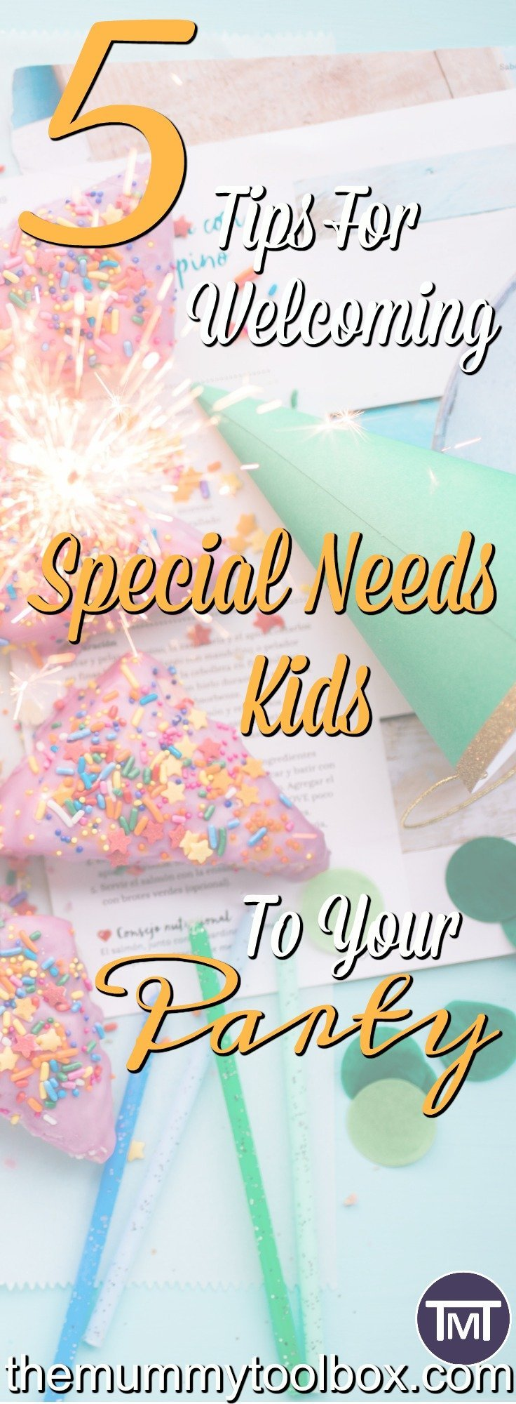 Once you start school it's basically party central. This guest post gives you tips to help you make special needs kids feel included and have a good time.