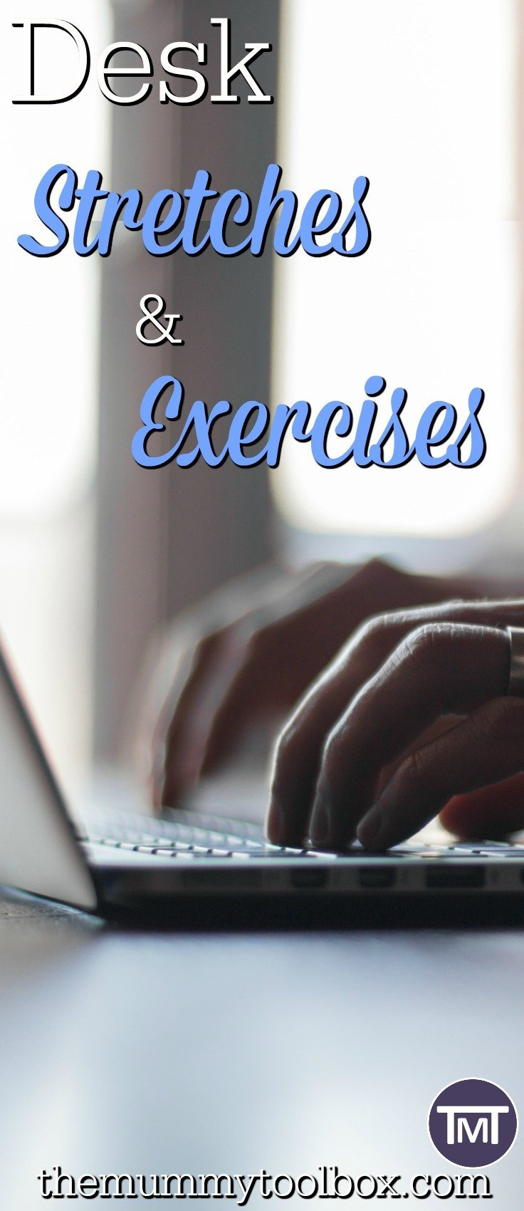 For those with a busy working lifestyle or who spend a lot of time sitting, these desk stretches and exercises will help get your exercise on at work.