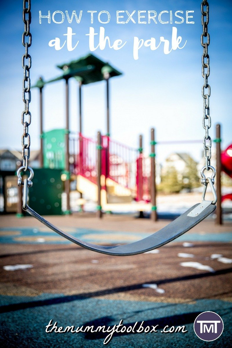 Just because you are taking your kids to the local park doesn't mean you can't use it to exercise! Here's the best ways to use the local park to exercise.