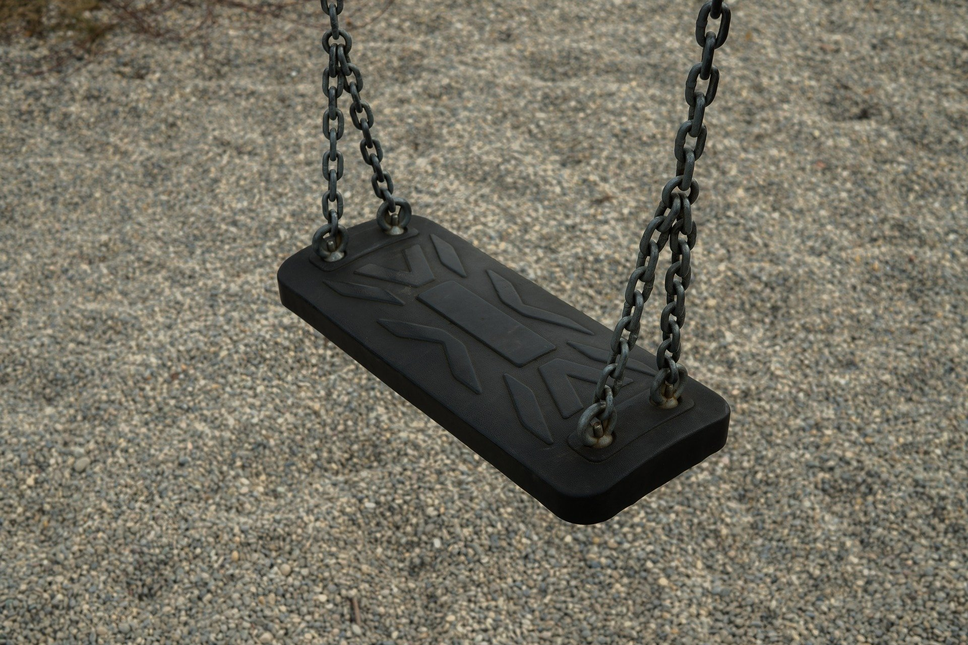 swings - exercise at a local park