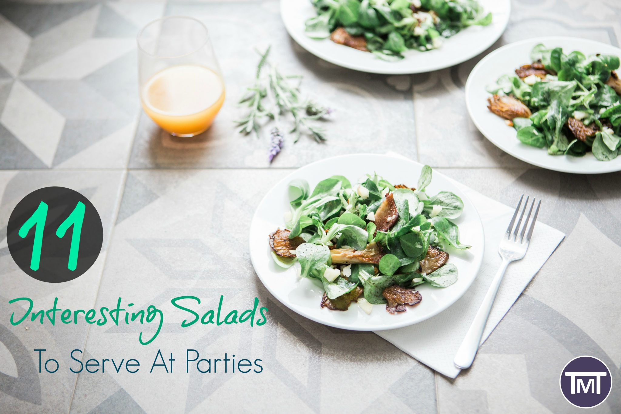 11 interesting salads to serve at parties feature image