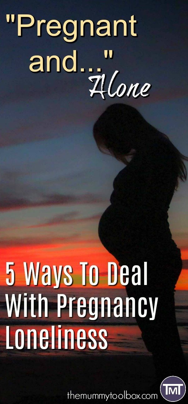 With the husband away close to my due date I have been nervous and alone! Here's some ways to deal with pregnancy loneliness and how I am coping.